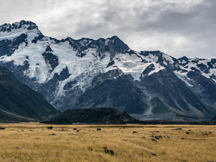Lake Tekapo, Wanaka, Hiking, Wandern, Mt Cook, glacier, Gletscher
