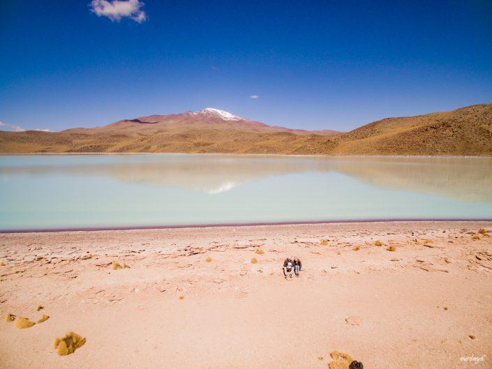 laguna celeste - bolivia
