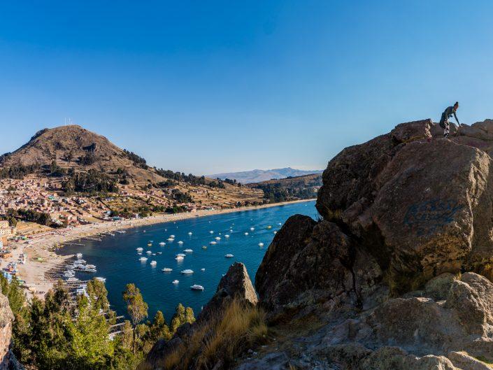 bolivia, Bolivien, Copacabana, Islas Flotantes, hike, Isla del Sol, schwimmende Inseln, Schilf