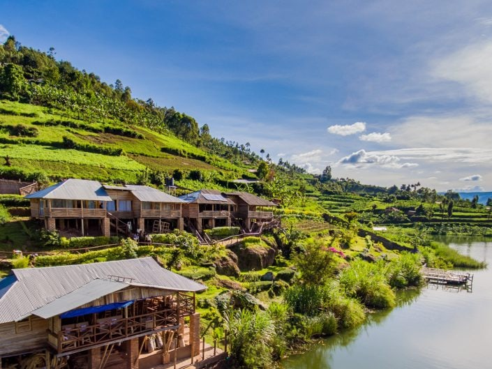 Lake Bunyonyi, Rock Resort, village, children, Kinder, Bwindi, Gorilla, tracking