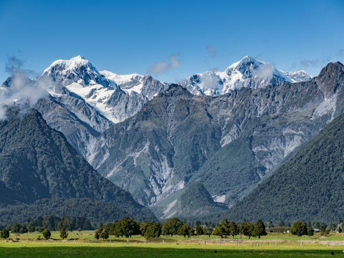 Westküste, Neuseeland, Fox Gletscher, Franz Josef, Hoktika, Strand, Beach, Sunset