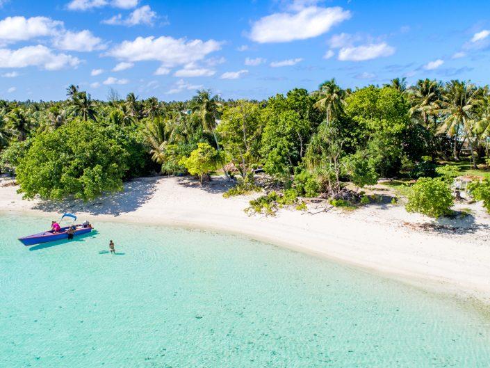 Maupiti, Gesellschaftsinseln, Strand, Sonne, Französisch Polynesien, Manta, Bora, Tahiti