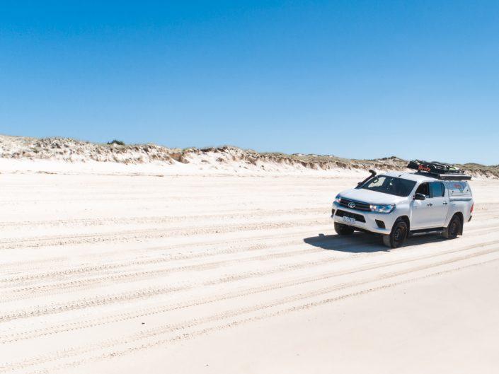 Moreton Island, Beach, Queensland, Australia