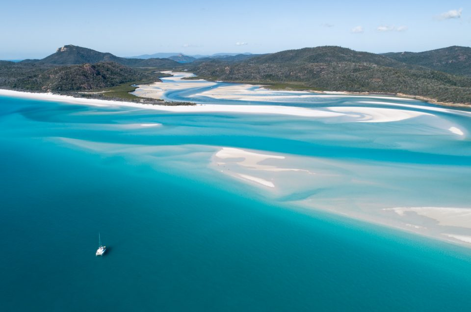 Sailing the Whitsundays!