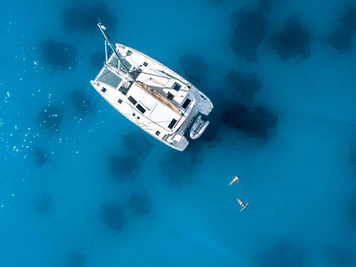 bei 24 Grad Wassertemperatur fällt es uns leicht ins Meer zu gehen