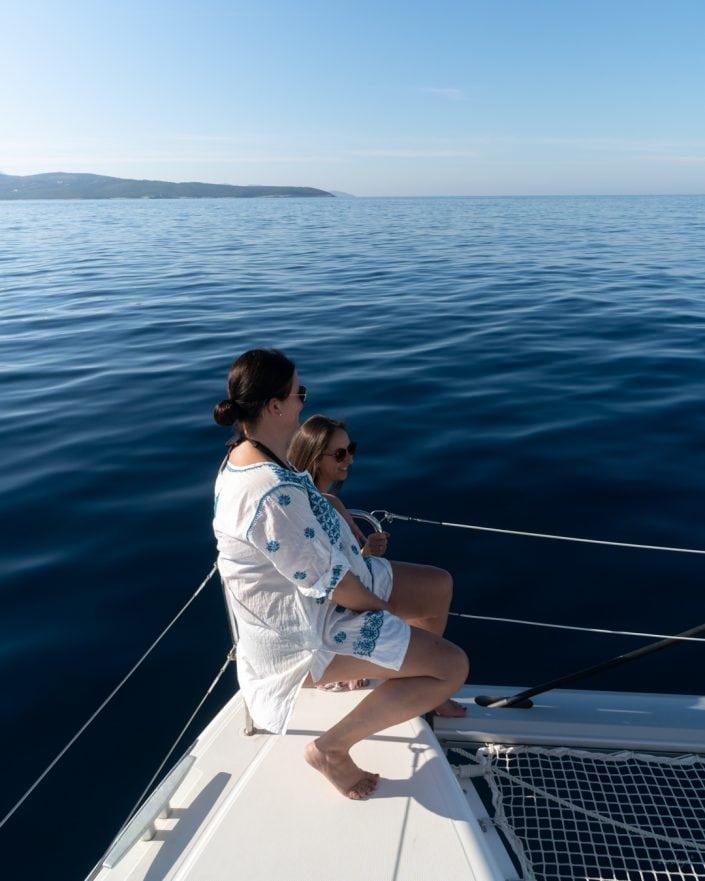 ...einfach nur aus das Meer schauen und sich unterhalten 👍