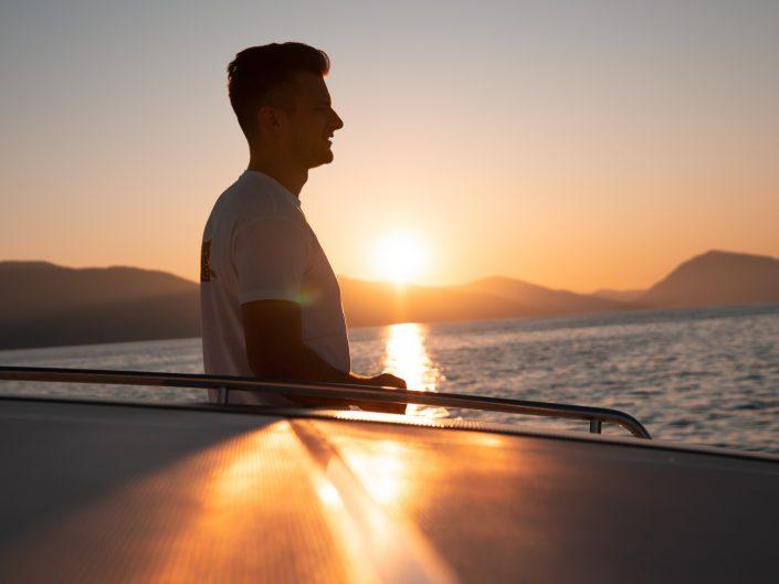 Sunrise auf dem Boot :)